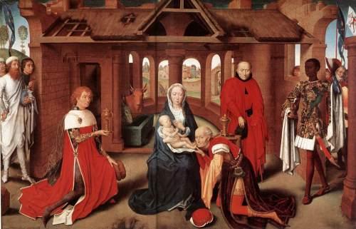 Hans Memling: Anbetung der Könige, 1479