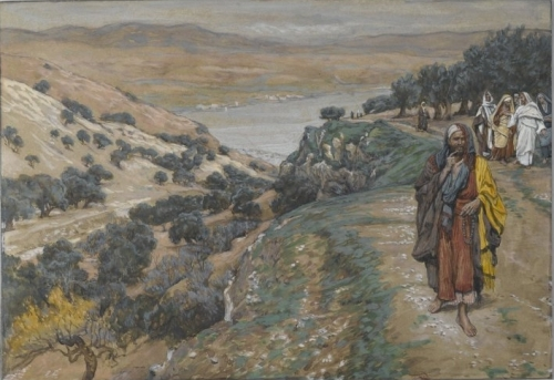 James Tissot: Jesus und der reiche Jüngling